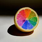 Lemon Colour Wheel by Sarah Moore