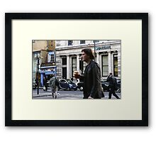 Barclays Framed Print