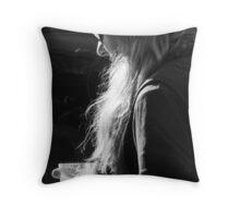 Paper Latte Throw Pillow