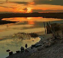 Sunset in Rhode Island by bbrisk