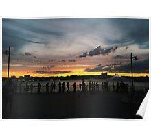 Hudson River Park, NYC // B_Landscapes Poster