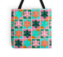 Daffodills Pop Art style pattern Tote Bag