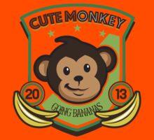Cute Monkey Kids Tee