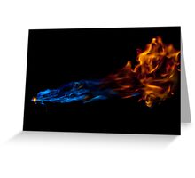 Blow Torch Greeting Card