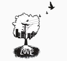 Rooted in love (small logo bottom corner) by cvdp