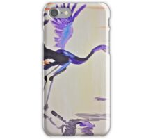 Blue Herron iPhone Case/Skin