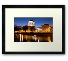 Four Courts Dublin at Dusk Framed Print