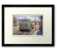 Leyland Octopus Tower Hill Transport Framed Print