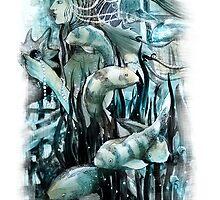Pearl. Sea fantasy by alenakaz