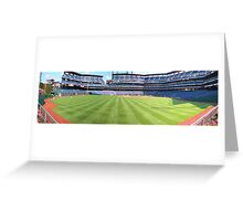 Perfect Day at the Ballpark Greeting Card