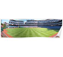 Perfect Day at the Ballpark Poster
