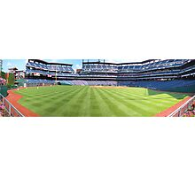 Perfect Day at the Ballpark Photographic Print