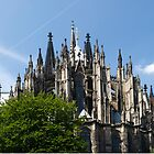 Cathedral in Cologne Germany - Full View by Richie Wessen