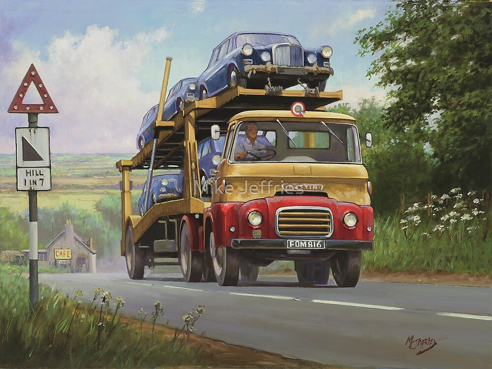 Austin Carrimore transporter by Mike Jeffries