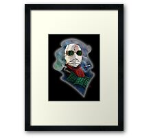 The Whole World's My Hiding Place! Framed Print