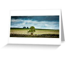 Dynamic Landscape Greeting Card