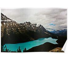 Peyto Lake (Canadian Rockies) Poster