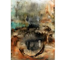 Abstract Colors Oil Painting #73 Photographic Print