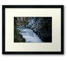 Johnson Canyon Framed Print