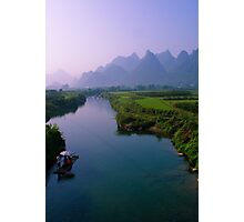 Fantacy on China Yulong River Photographic Print
