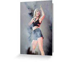 Taylor Swift 1989 Tour I Knew You Were Trouble Greeting Card