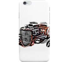 Hot Rod (alpha bkground for light tshirts) iPhone Case/Skin