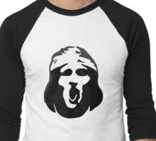 Scream Face Men's Baseball ¾ T-Shirt