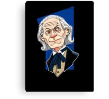 The First Doctor Canvas Print