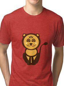 Leo Vector Illustration Tri-blend T-Shirt