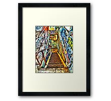 This Way To The Exit Framed Print