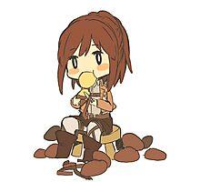 Chibi Sasha Blouse (Attack on Titan Potato Girl) Photographic Print