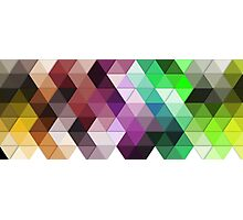 Color triangle Photographic Print