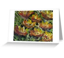 Straw Flower Greeting Card