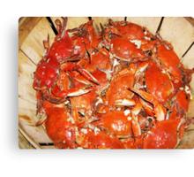 Crabs  Canvas Print