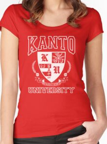 Kanto University Women's Fitted Scoop T-Shirt