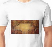 Abstract Wall Oil Painting Unisex T-Shirt