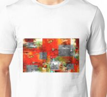 Abstract Colors Oil Painting #80 Unisex T-Shirt