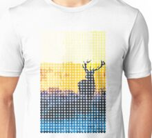 The water, the fire and the deer Unisex T-Shirt