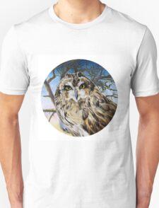 Fiery Owl Unisex T-Shirt