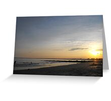 Roger Wheeler State Beach Greeting Card