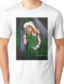 Photographer in Green Unisex T-Shirt