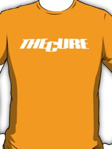 THe Cure 17 Seconds logo white T-Shirt
