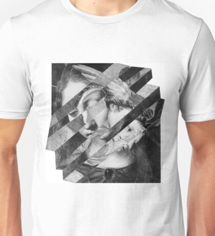 Portrait of a Woman with Child. Unisex T-Shirt
