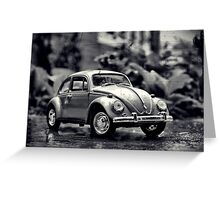 Volkswagen Bug Greeting Card