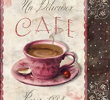 Patisserie Damask Coffee Cup by mindydidit