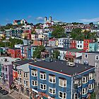 St John&#x27;s In Living Colour by Brian Carey