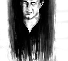 DARK COMEDIANS: Jason Segel by Zombie Rust