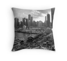 Chicago Throw Pillow