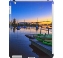 Green Kayaks iPad Case/Skin