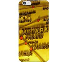 Railway Map iPhone Case/Skin